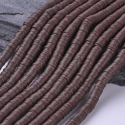 Eco-Friendly Handmade Polymer Clay BeadsX-CLAY-R067-6.0mm-38-1