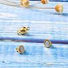 Brass Magnetic ClaspsKK-TA0007-32-4