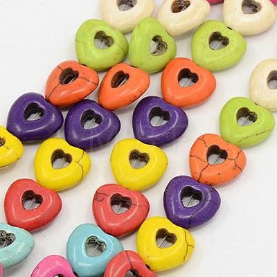 Natural Howlite Beads StrandsTURQ-G140-08-1