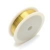 Copper Jewelry WireCWIR-R001-0.4mm-07-1