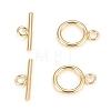 Brass Toggle ClaspsKK-Q765-01G-2