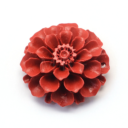 Flower Cinnabar Links CARL-Q003-44-1