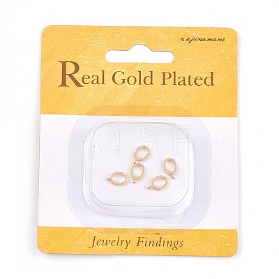 Real 18K Gold Plated Brass Charms X-KK-Q669-32G-1