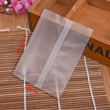 Rectangle Frosted Plastic Cellophane Bags OPC-F004-04D-1