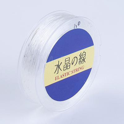 Japanese Round Elastic Crystal StringEW-G007-02-0.7mm-1