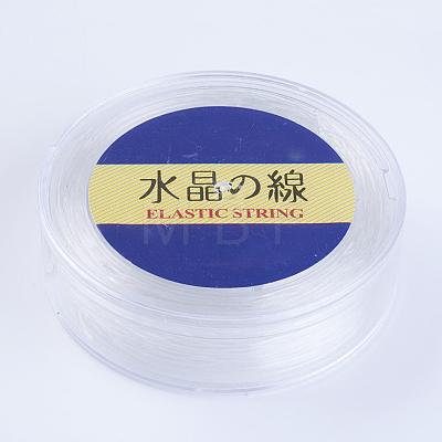 Japanese Round Elastic Crystal StringEW-G007-02-1mm-1