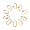 Brass Screw Carabiner Lock CharmsX-KK-T047-07G-1