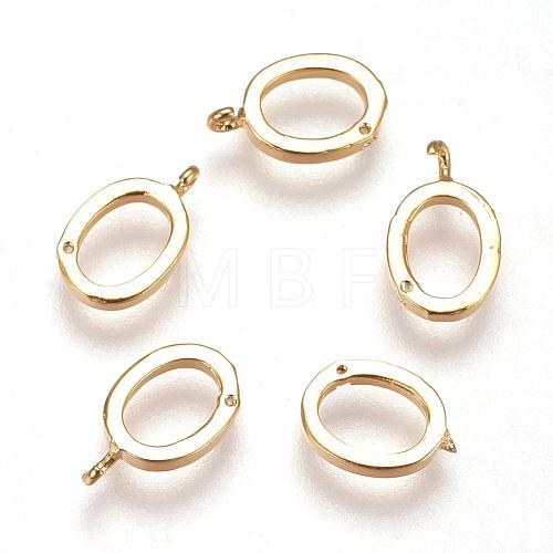 Real 18K Gold Plated Brass CharmsX-KK-Q669-32G-1