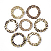 Handmade Reed Cane/Rattan Woven Linking RingsWOVE-T006-067-1