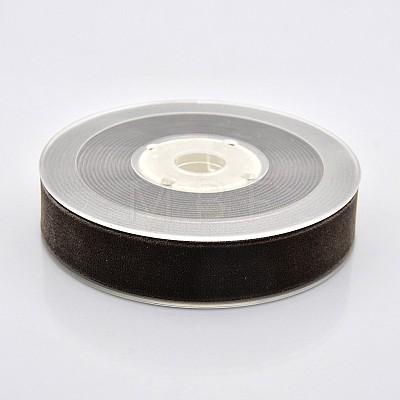 Polyester Velvet Ribbon for Gift Packing and Festival DecorationSRIB-M001-19mm-850-1