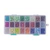 24 Colors Glass BeadsGLAA-JP0001-12-4