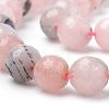 Natural Cherry Blossom Jasper Beads StrandsX-G-Q462-120-8mm-3
